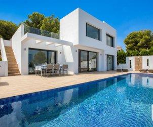Belle villa   à Benissa pour 8 personnes avec piscine privée et climatisation p0