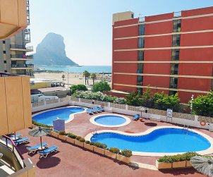Appartement   à Calpe pour 4 personnes avec piscine commune p1
