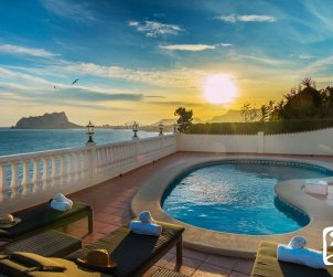 Villa   à Benissa pour 8 personnes avec piscine privée, vue mer et climatisation p0