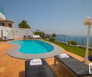 Villa   à Benitachell pour 10 personnes avec piscine privée, vue mer et climatisation p0