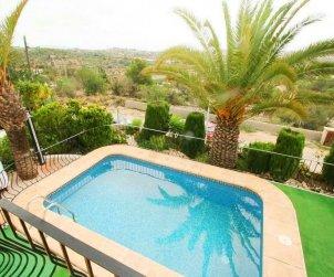 Villa   à Benissa pour 4 personnes avec piscine privée et climatisation p1