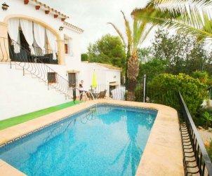 Villa   à Benissa pour 4 personnes avec piscine privée et climatisation p0