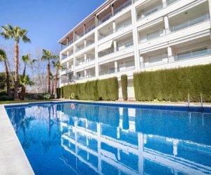 Appartement   à Platja d'Aro pour 4 personnes avec piscine commune p0