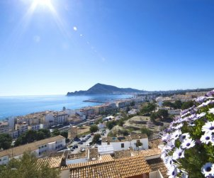 Flat   Altea 3 persons - panoramic sea view p0