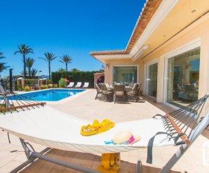 Villa   à Moraira pour 6 personnes avec piscine privée, vue mer et climatisation p1