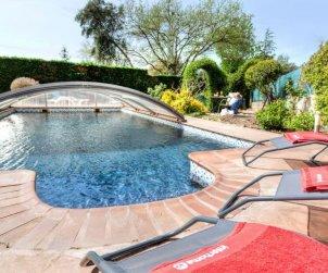 Villa   à Caldes de malavella pour 6 personnes avec piscine privée p2
