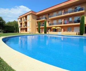Appartement   à l'Escala pour 6 personnes avec piscine commune et parking privée p1