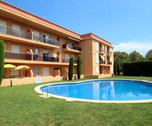 Appartement   à l'Escala pour 6 personnes avec piscine commune et parking privée p0