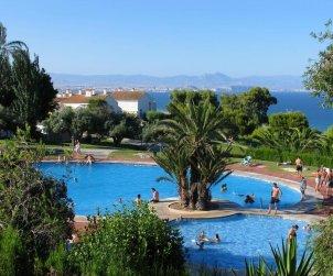Maison   à Santa Pola pour 6 personnes avec piscine commune, climatisation et internet p2