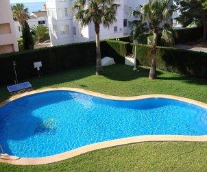 Appartement   à Alcoceber pour 6 personnes avec piscine commune, climatisation et parking p2