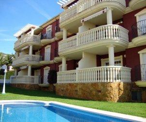 Appartement   à Alcoceber pour 6 personnes avec piscine commune, climatisation et parking p1