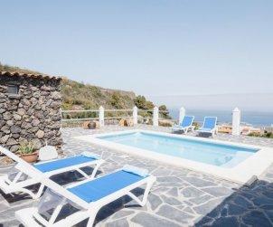Villa   à Icod de los Vinos pour 4 personnes avec piscine privée p1