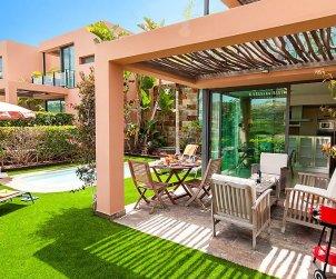Villa   à Maspalomas pour 4 personnes avec piscine privée p1