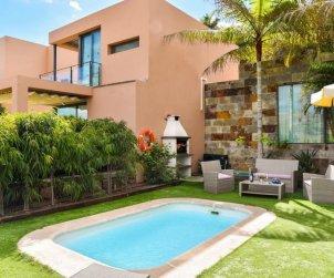 Villa   à Maspalomas pour 4 personnes avec piscine privée p2