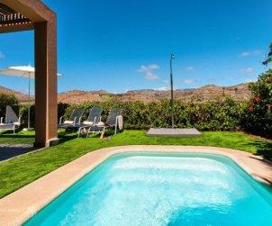 Villa   à Maspalomas pour 4 personnes avec piscine privée p0