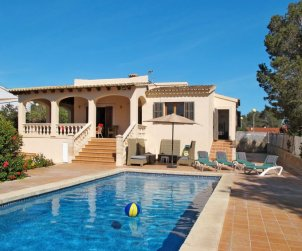 Appartement   à Cala Pí pour 6 personnes avec piscine privée p0