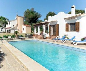 Villa   à Cala Pí pour 6 personnes avec piscine privée p0