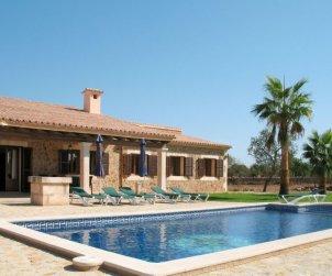 Villa   à Majorque - Felanitx pour 6 personnes avec piscine privée p0
