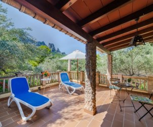Villa   à Cala Tuent pour 6 personnes avec lave-vaisselle p1