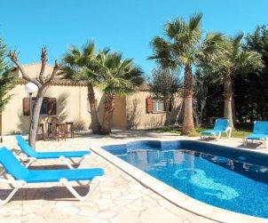 Villa   à ses Salines pour 6 personnes avec piscine privée p0