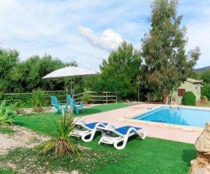 Villa   à Sant Llorenç pour 4 personnes avec piscine privée p0
