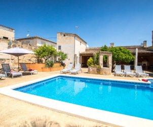 Villa   à María de la Salut pour 10 personnes avec piscine privée p2