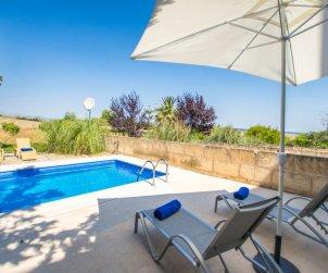 Villa   à María de la Salut pour 6 personnes avec piscine privée p1