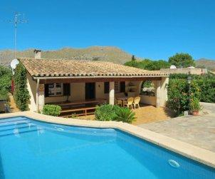 Villa   à Pollença pour 8 personnes avec piscine privée p2