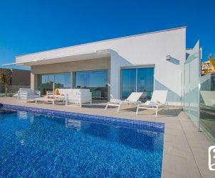 Villa moderne à Moraira pour 8 personnes avec piscine privée, vue mer et climatisation p0