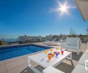 Villa moderne à Moraira pour 8 personnes avec piscine privée, vue mer et climatisation p1