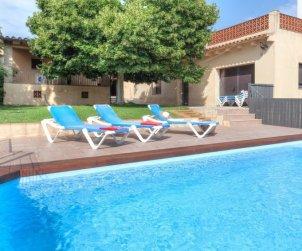 Villa   à Calonge - Sant Antoni de Calonge pour 14 personnes avec piscine privée p0