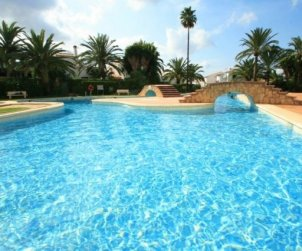 Villa   à Denia pour 4 personnes avec piscine commune p1
