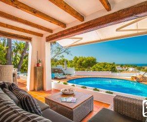 Villa   à Moraira pour 8 personnes de style ibiza avec piscine privée et climatisation p2