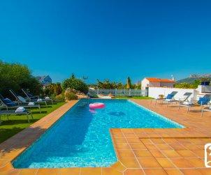 Villa   à Benissa pour 8 personnes avec piscine privée, vue mer et climatisation p2