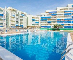 Appartement   à Oropesa del Mar pour 6 personnes avec piscine commune, parking et proche mer p1