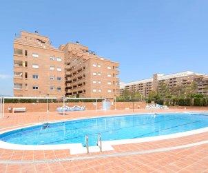 Appartement   à Oropesa del Mar pour 4 personnes avec piscine commune, climatisation et parking p0