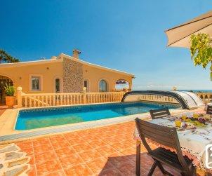 Villa   à Benissa  pour 10 personnes avec piscine privée et vue mer p0