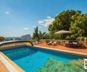 Villa   à Benissa  pour 10 personnes avec piscine privée et vue mer p1