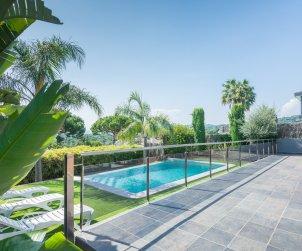 Villa   à Caldes d'Estrac pour 8 personnes avec piscine privée et vue mer p1