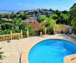 Villa   à Denia pour 6 personnes avec piscine privée et belle vue mer p0