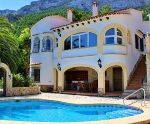 Villa   à Denia pour 6 personnes avec piscine privée et belle vue mer p1