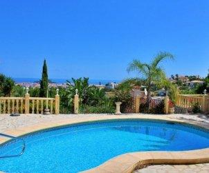 Villa   à Denia pour 6 personnes avec piscine privée et belle vue mer p2