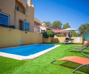 Villa   à Colònia Sant Pere pour 8 personnes avec piscine privée p0