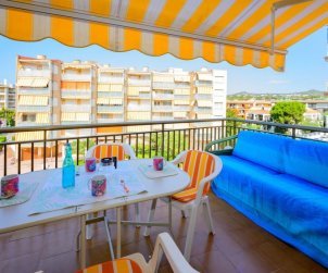 Appartement   à Cunit pour 6 personnes avec vue mer p1