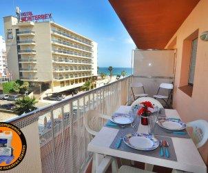 Appartement   à Rosas pour 6 personnes avec vue mer p0