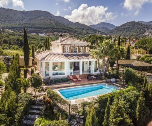 Villa   à Alhaurín de la Torre pour 8 personnes avec piscine privée p0