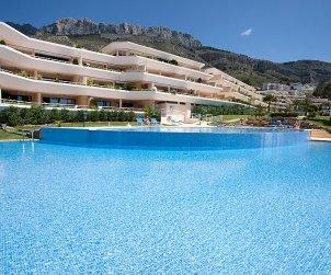 Appartement   à Altea pour 6 personnes avec piscine commune p0