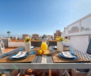 Appartement   à Benalmadena pour 4 personnes avec vue mer p0