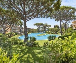 Appartement   à Calella de Palafrugell pour 4 personnes avec piscine commune p0