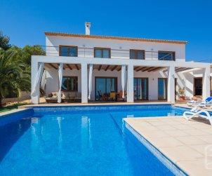Villa   à Benissa pour 8 personnes avec piscine privée et vue mer p1